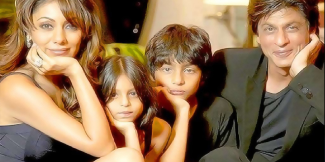 shah-rukh-khan-with-wife-and-children