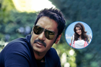 Ajay Devgan and Kajal Agarwal