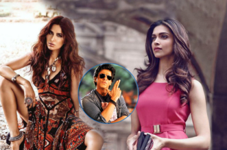 Katrina, Deepika and Shahrukh