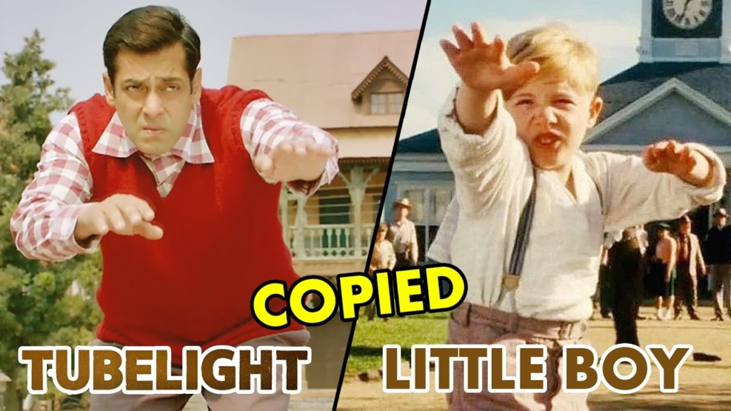 Salman khan Tubelight is copied from hollywood film Little boy