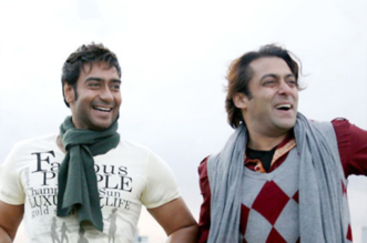 Salman khan and ajay devgan