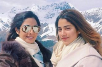 Sridevi and Daughter Jhanvi Kapoor