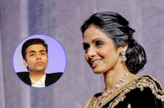 Sri devi teaches karan jauhar how to make films